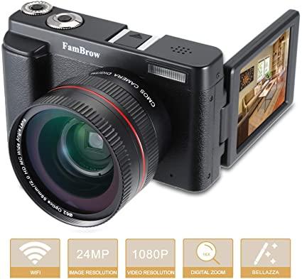 Macchina Fotografica Digitale WiFi,Fotocamera Digitale Full HD