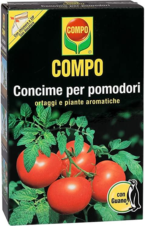 Compo, Concime per Pomodori con Guano, Ottimo Anche per Le Colture