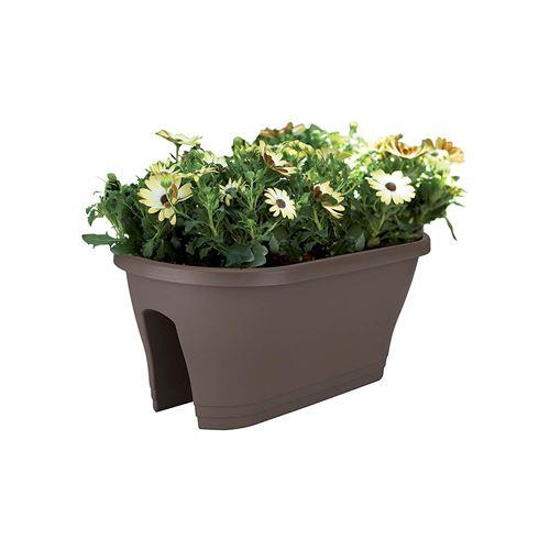 Tortora Fioriera 3 vasi da balcone Dmail Vasi e accessori per