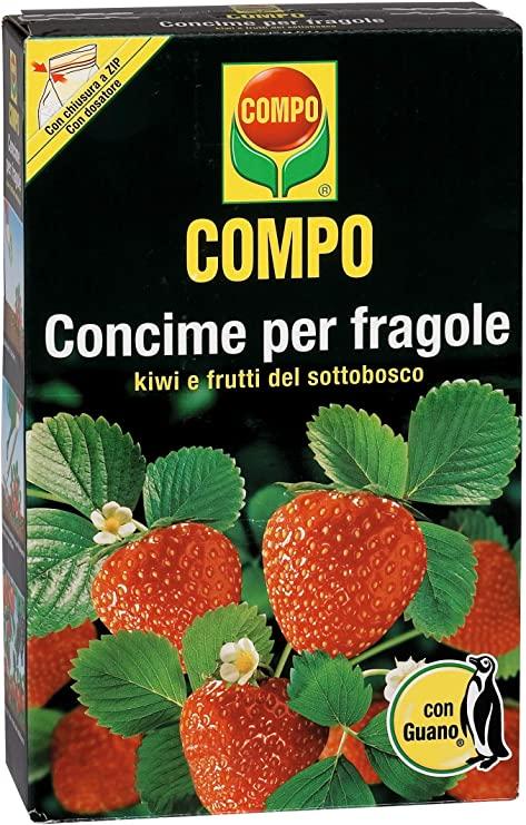 COMPO Concime per Fragole, Kiwi e Frutti del Sottobosco, Con Guano