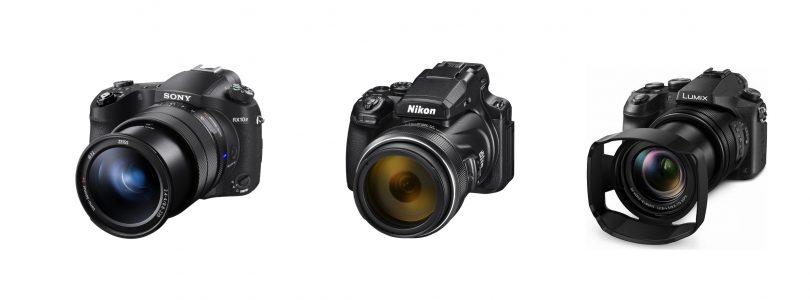 Le migliori fotocamere bridge, con superzoom e compatte