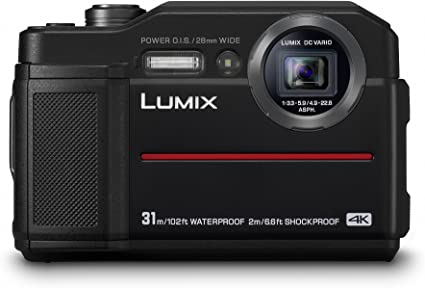 Panasonic LUMIX DC-FT7EB-K - Fotocamera compatta impermeabile