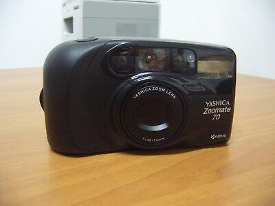 MACCHINA FOTOGRAFICA A Rullino Yashica Zoomate 70 - EUR 18,99