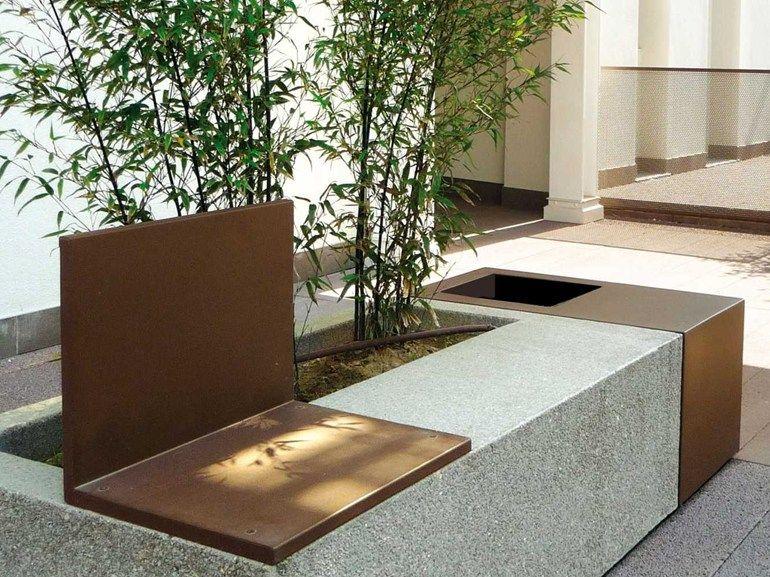 panca con fioriera integrata - Google Search | Urban furniture