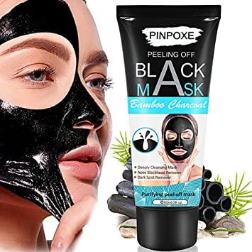 PINPOXE Maschera nera, Black Mask, Blackhead Maschera, per la