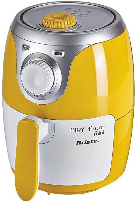 Ariete 4615 Airy Fryer Mini, Friggitrice ad aria senza olio, 1000