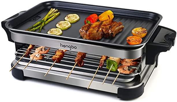Griglia Elettrica Barbecue Piastra Elettrica Raclette per