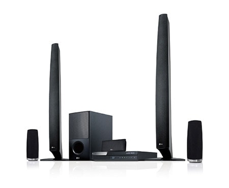 LG BH6620P Home Cinema System - 3D Blu-Ray Disc Playback 5.1 with