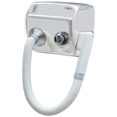 Nofer - Asciugacapelli Elettrico Con Pulsante Phon Da Parete A