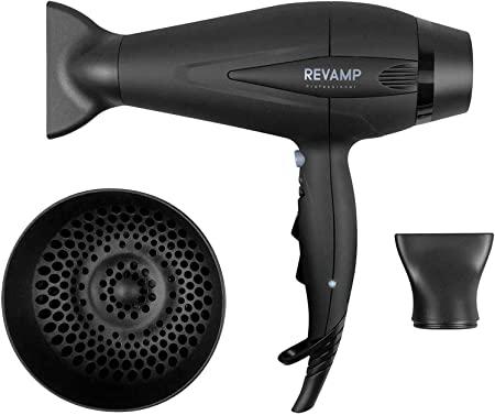 REVAMP Progloss 5500, Asciugacapelli Professionale Potente 2400 W