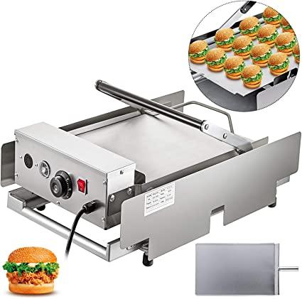 VEVOR Piastra per Hamburger Tostapane per Toast Doppi Piatti