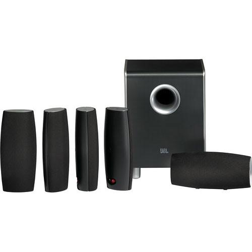 JBL Cinema Sound CS6100 5.1 Home Theater Speaker System CS6100BG