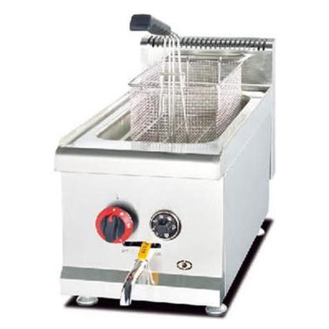 Ristochefpro - Friggitrice A Gas Professionale Singola Vasca